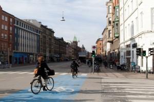 Bicicletele sunt foarte populare in Copenhaga
