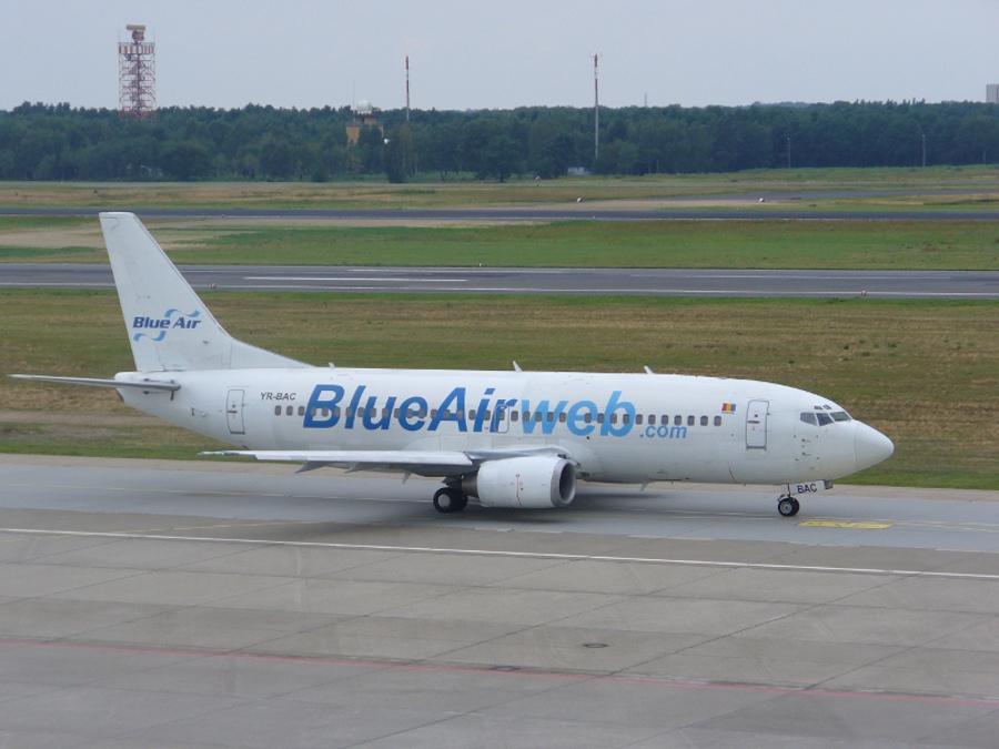 Blue Air îşi mută cursele de pe Otopeni pe Băneasa