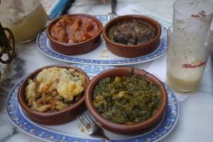 Ce mancam in Sevilla