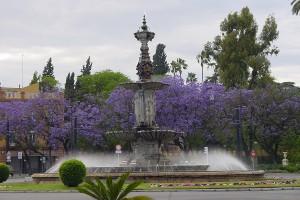 Centrul parcului Maria Luisa