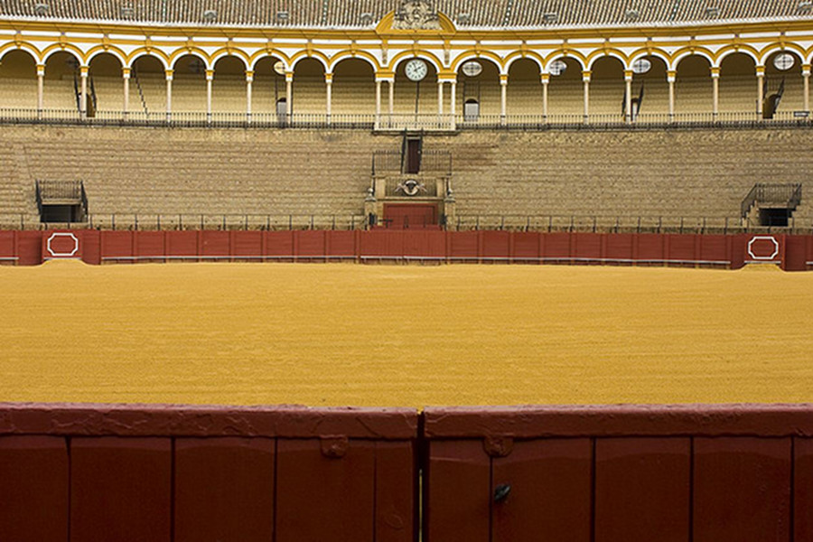 Corida din Sevilia (Plaza de toros de la Real Maestranza de Caballeria de Sevilla) [POI]