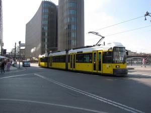 Cum arata tramvaiele din Berlin