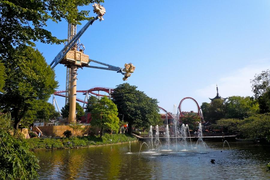 Grădinile Tivoli (The Tivoli Gardens) [POI]