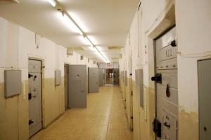 Interiorul închisorii Hohenschoenhausen