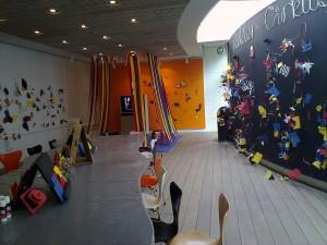 Interiorul unei camere din Muzeul Copiilor Copenhaga