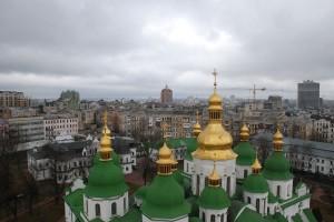 Kiev vazut de sus