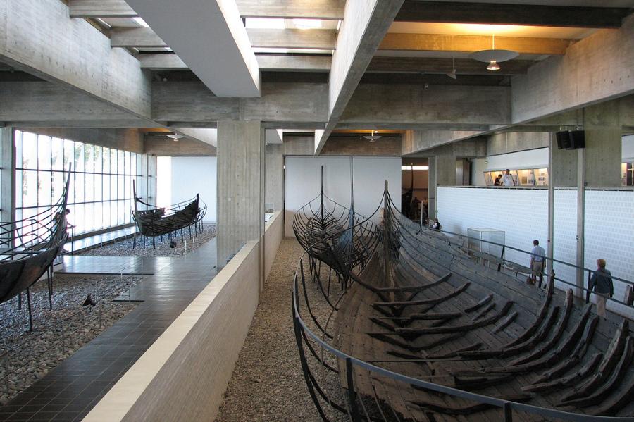 Muzeul Corăbiilor Vikinge (Roskilde Museum) [POI]