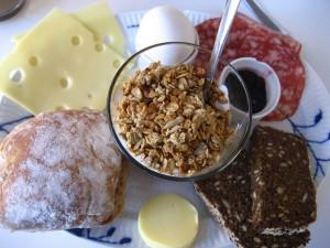 O varianta de mic dejun din Copenhaga
