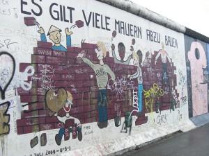 Portiune a Galeriei de Est a Berlinului