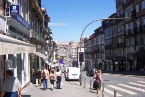 Turisti in Porto