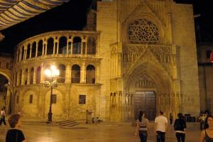 Centrul vechi pe timp de noapte