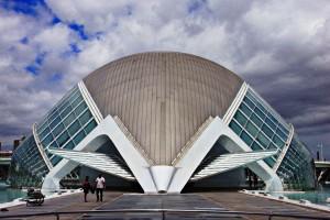Cinematograful Hemisferic este parte din Oraşul Artelor şi Ştiinţelor