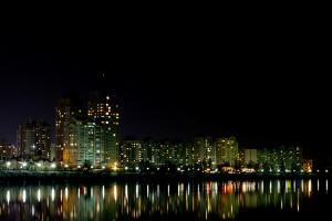 Kiev, pe timp de noapte
