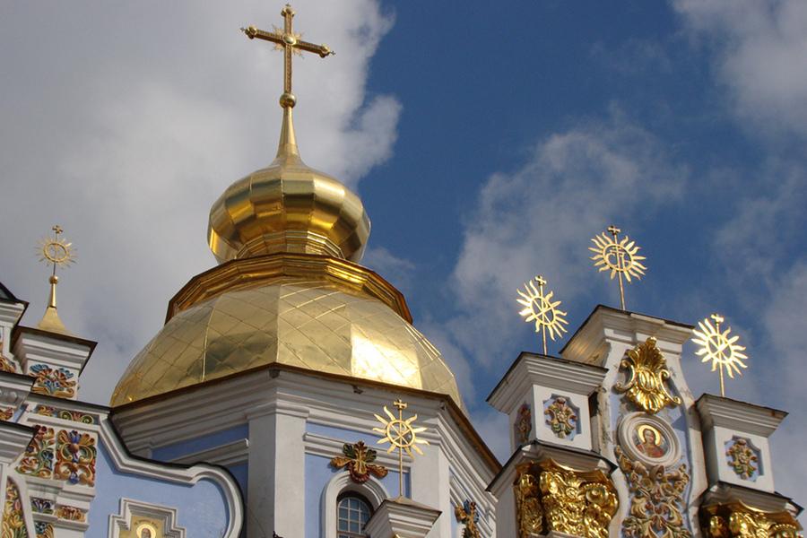 Mânăstirea Sfântul Mihail (Michailivskij Solotoverchij Monastir) [POI]
