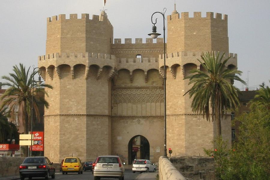 Turnurile Serranos (Torres de Serranos) [POI]