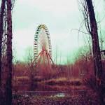 Roata era obiectivul principal de atracție din parc