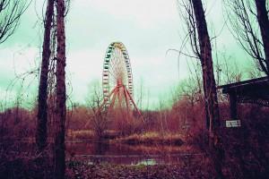 Roata era obiectivul principal de atracţie din parc