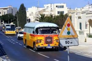 Aşa arată un autobuz în Malta