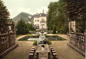 Castelul Hellbrunn din Salzburg