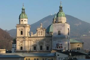 Catedrala din Salzburg este una dintre cele mai emblematice cladiri din oras