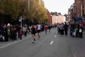 Cativa dintre alergatorii la Maratonul din Dublin