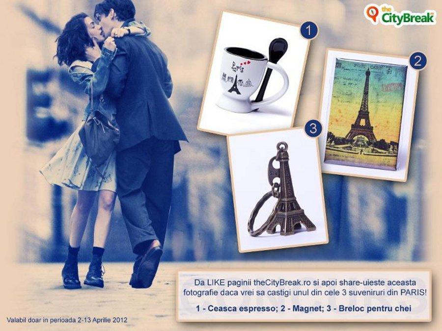 Dragoste pentru suveniruri, în stil parizian (concurs incheiat)