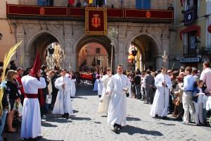 Început de procesiune