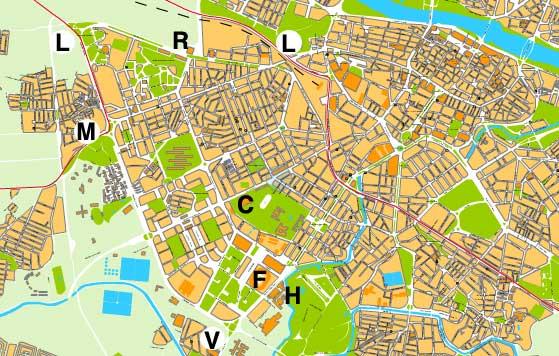 Hartă turistică Zaragoza