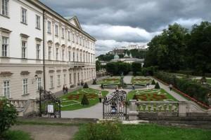 Intrarea in Palatul Mirabell