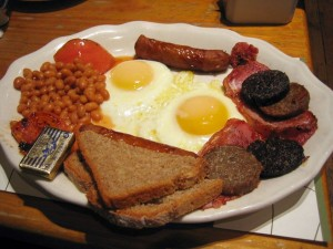 Mic dejun traditional din Dublin