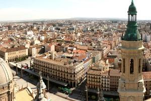 Panorama din Zaragoza