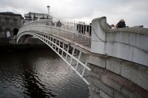 Podeţul Ha'penny din Dublin