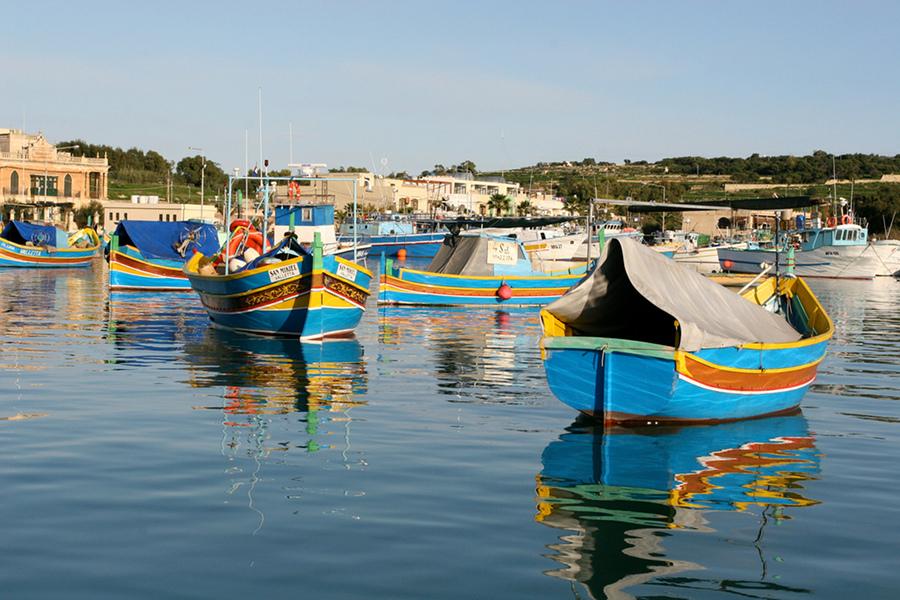 Portul Marsaxlokk (Marsaxlokk) [POI]