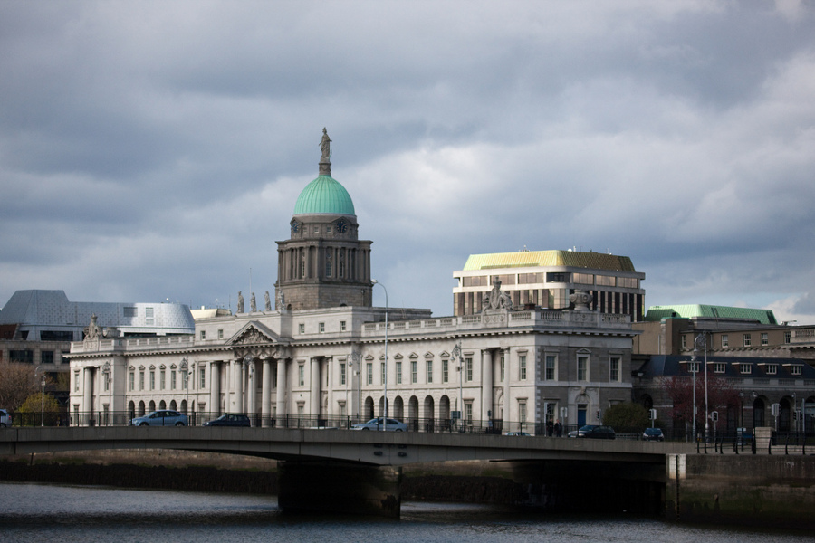 Custom House din Dublin (The Custom House) [POI]