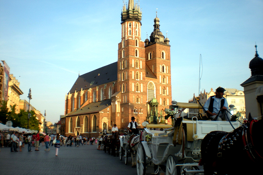 City break la Cracovia, oraşul medieval