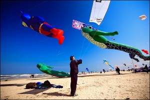 Festival de zmeie pe plajă
