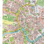 Hartă turistică Cracovia