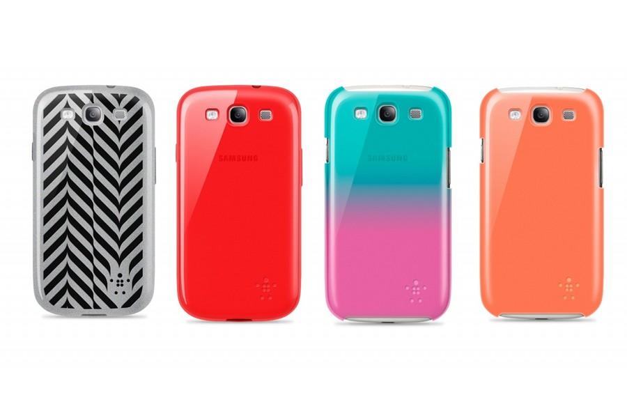 Accesorii pentru noul Samsung Galaxy S III de la Belkin