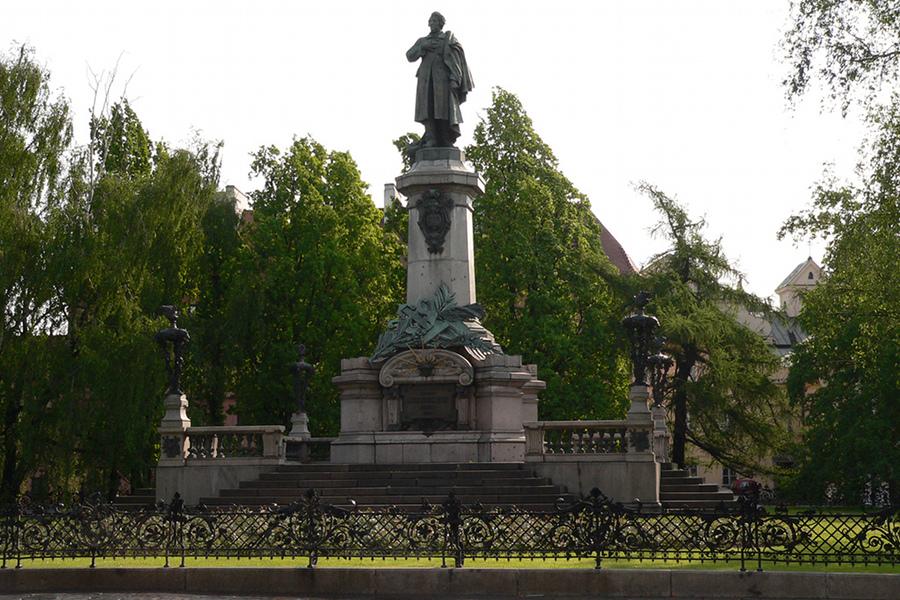 Monumentul lui Adam Mickiewicz (Adam Mickiewicz Monument) [POI]