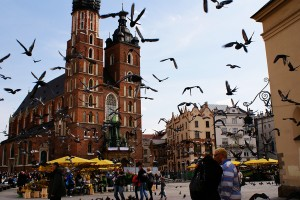 Rynek Glowny w Krakowie