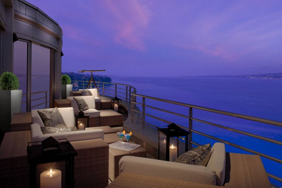 Cel mai scump hotel din Europa: Hotel President Wilson din Geneva