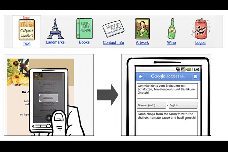 Google Goggles, o aplicaţie care te scoate din încurcături în vacanţă