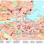 Hartă turistică Geneva