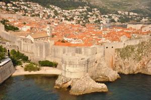 Asa se vede orasul din Fortareata Lovrijenac