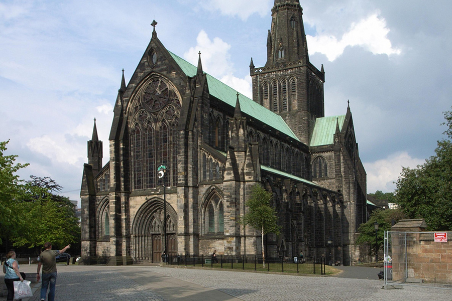 Catedrala Glasgow (Glasgow Cathedral) [POI]