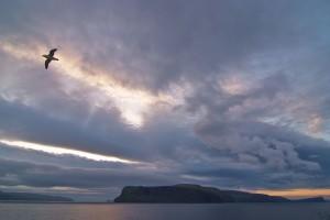 Insulele Feroe, privire din departare