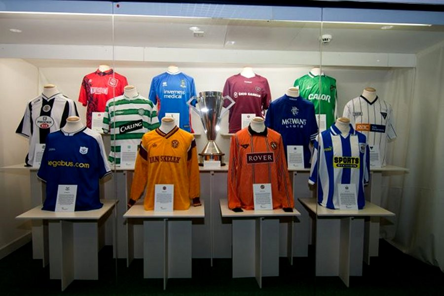 Muzeul Fotbalului (Scottish Football Museum) [POI]