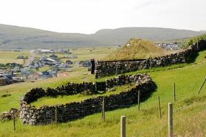 Una dintre cele mai vechi case din Kálvalíð