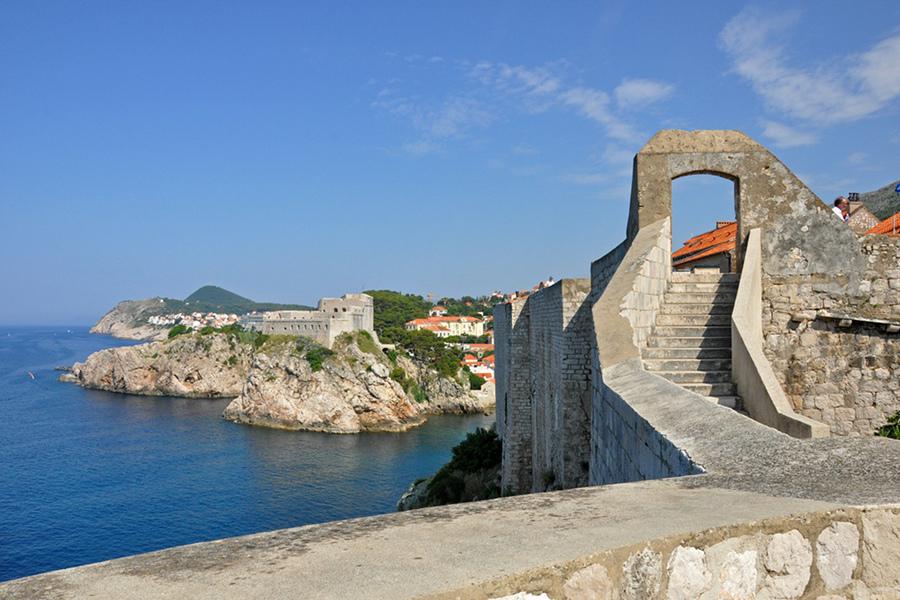 Zidurile din Dubrovnik (Walls of Dubrovnik) [POI]