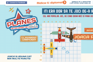 Jocul PLANES în variantă online
